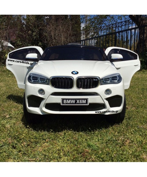 BMW X6M White Facelift with 2.4G R/C under License