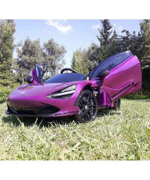 Mclaren 720 S Painting Purple with 2.4G R/C under License