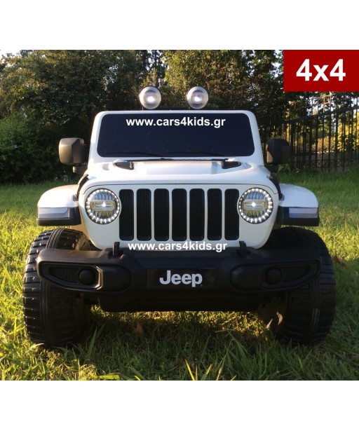 4x4 Jeep Wrangler White with 2.4G R/C under License