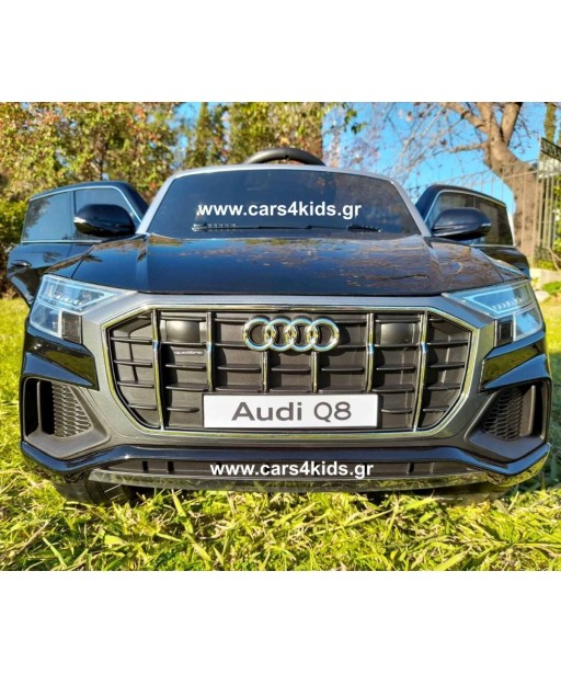Audi Q8 Painting Black under License with 2.4G R/C