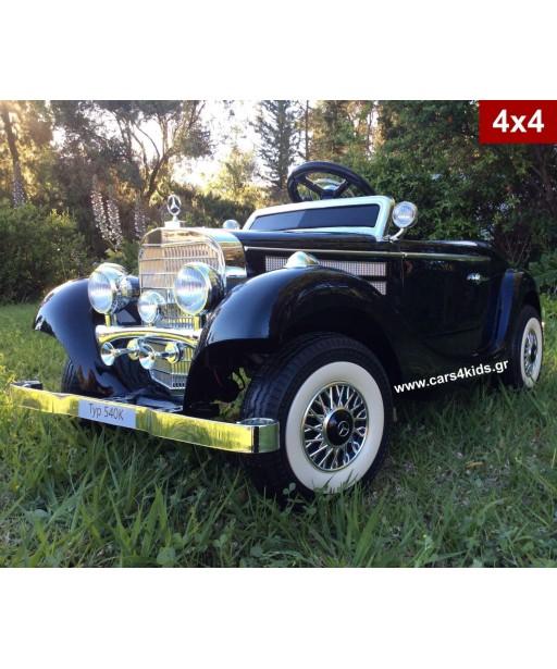 4x4 Mercedes-Benz Typ 540K Painting Black with 2.4G R/C under License