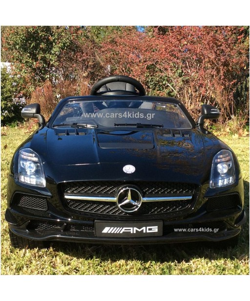 Mercedes-Benz SLS AMG Painting Black with 2.4G R/C under License